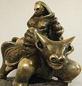 Emil Adamec Kovové sochy